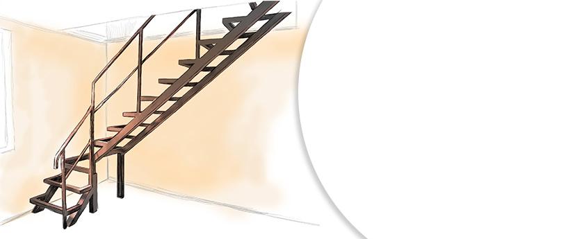 изготовление, сварка и монтаж лестниц