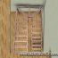 полнопоротный металлокаркас с забежными ступенями